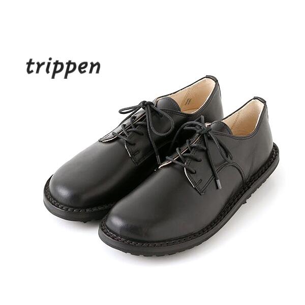 """trippen トリッペン """"SPRINT-BOX"""" レザーレースアップシューズ レディース【送料無料】【返品交換不可】"""
