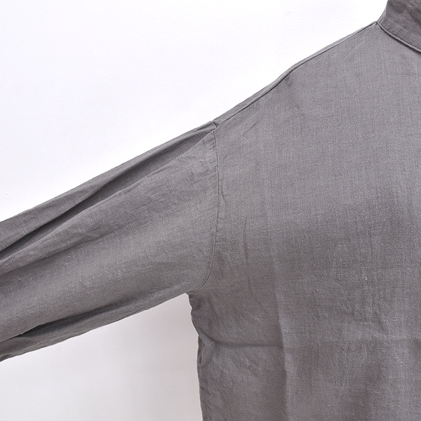 "SETTO セット ""BS OKKAKE SHIRT"" リネンバルーンスリーブオッカケシャツ STL-SH017 レディース"