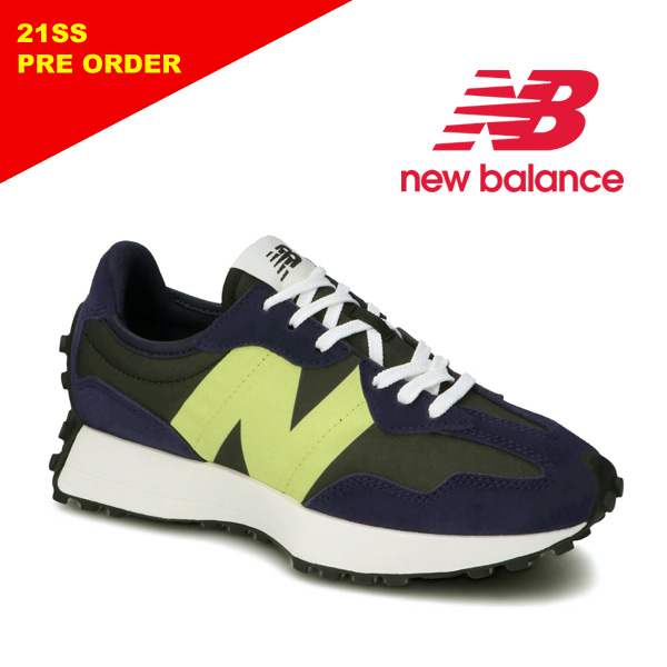 "【21SS】New Balance ニューバランス ""WS327 CC"" ネイビー スニーカー レディース 【先行予約】"