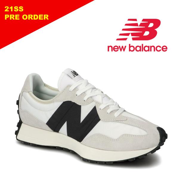 "【21SS】New Balance ニューバランス ""MS327 FE"" ホワイト スニーカー メンズ レディース 【先行予約】"