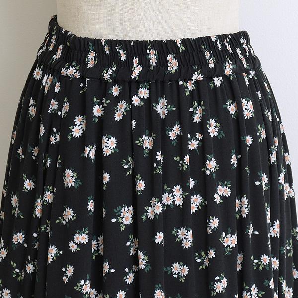 THE SHINZONE シンゾーン FLOWER PRINT SKIRT フラワープリントスカート 21MMSSK07 レディース【送料無料】