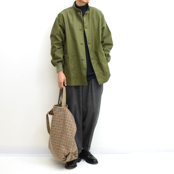【20AW】Engineered Garments エンジニアードガーメンツ Carry All Tote -Big Gunclub Check- キャリーオールトートバッグ HJ072【送料無料】