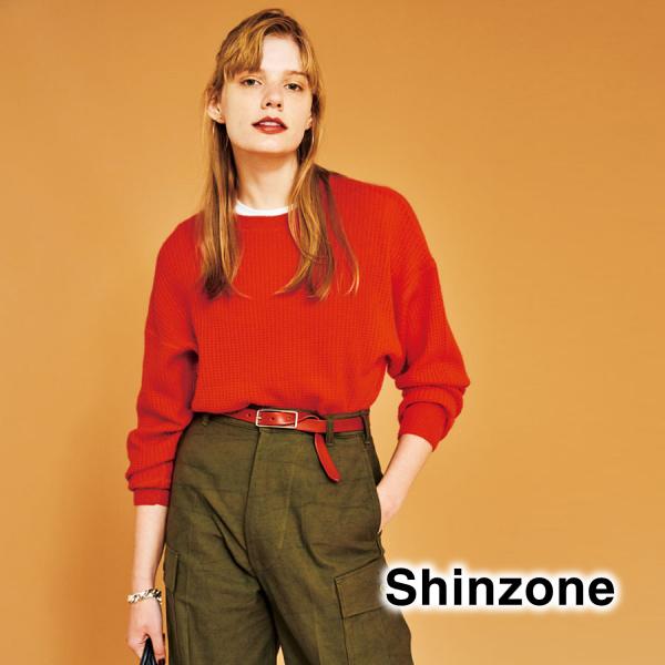 """【21AW】THE SHINZONE シンゾーン """"SLENDER LEATHER BELT"""" レザーベルト 15AMSIT55【クリックポスト可】【予約】"""