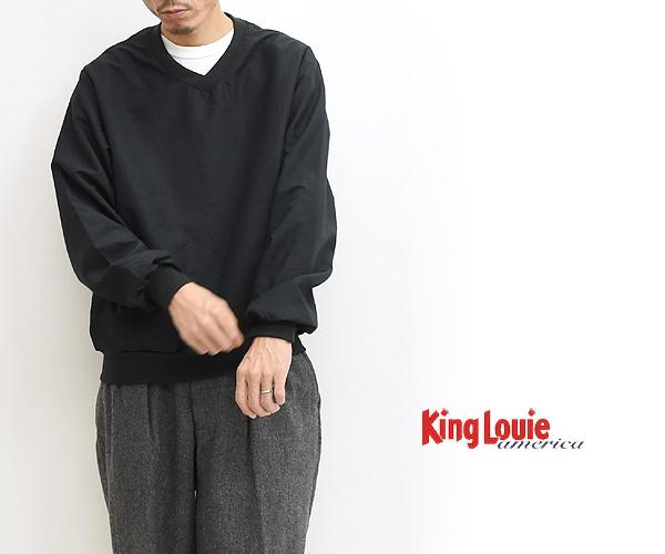 "【60%OFF】【セール】KING LOUIE ""JOURNEY MICROFIBRE WINDSHIRT"" Vネックウィンドシャツ 83513 メンズ【送料無料】【返品・交換不可】"