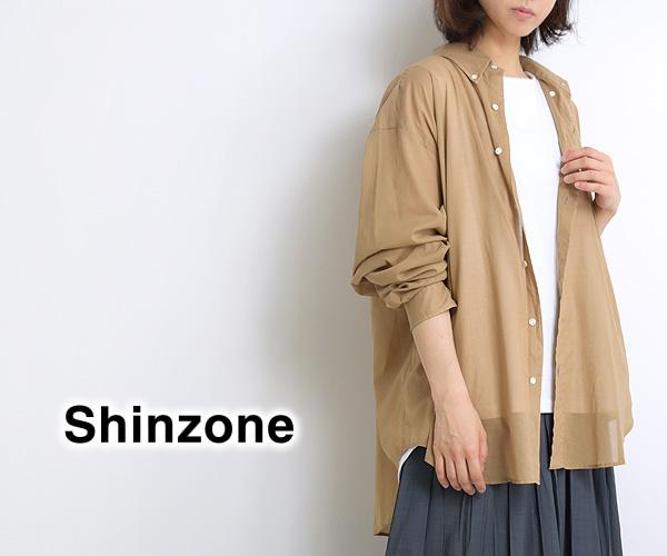 "THE SHINZONE シンゾーン ""SHEER SHIRT"" シアーシャツ 21MMSBL11 レディース【送料無料】"