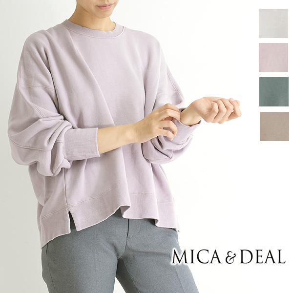 MICA&DEAL マイカアンドディール ビッグスウェットプルオーバー 0121309146 レディース【送料無料】