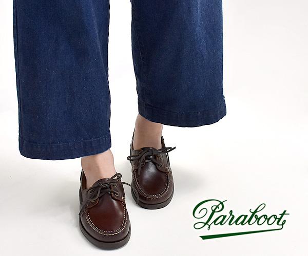 """paraboot パラブーツ """"BARTH F"""" バース デッキシューズ レディース 190818"""