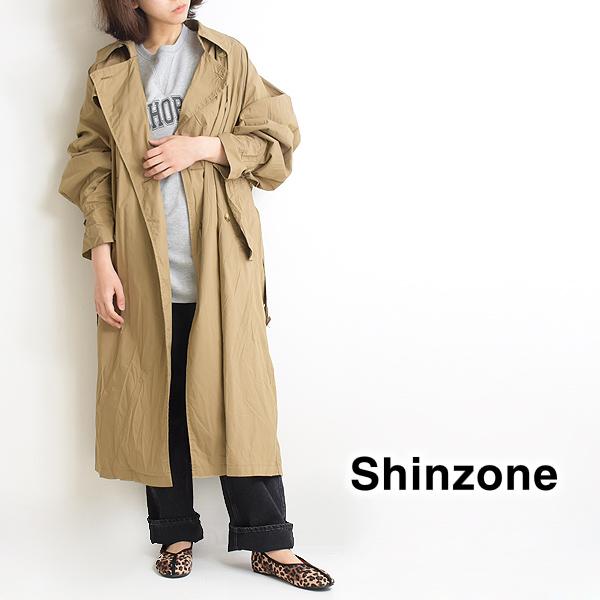 "THE SHINZONE シンゾーン ""TRAVEL COAT"" トラベルコート ビックトレンチコート 21SMSCO01 レディース【送料無料】"