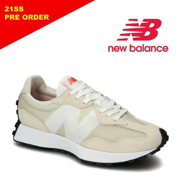 """【7月納期】New Balance ニューバランス """"MS327 BA"""" ホワイト スニーカー メンズ レディース 【先行予約】【送料無料】【予約】"""