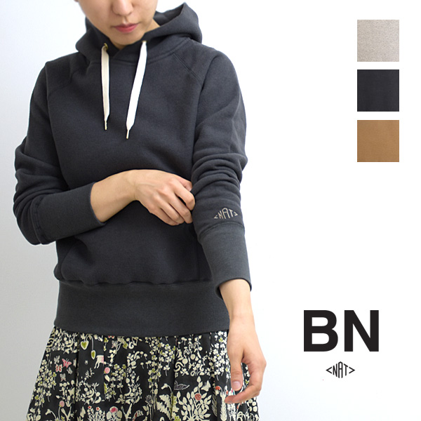 BN by natalia ビーエヌ ナターリア リヨセルコットンプルオーバーパーカー N5101 レディース 【送料無料】