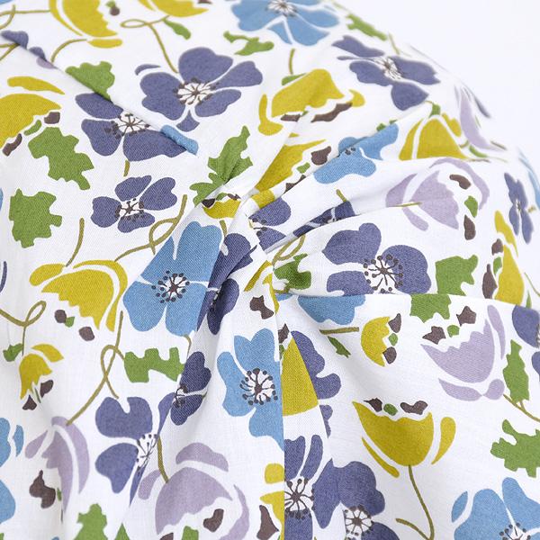 """Sarah Wear サラウェア """"Sumire"""" リバティプリント半袖ブラウス C52687 レディース【送料無料】【クリックポスト可】"""