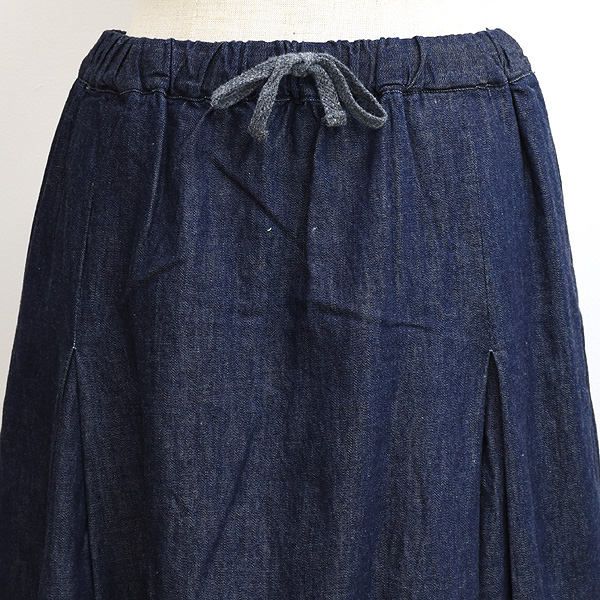 SETTO セット MARKET SKIRT マーケットスカート インディゴデニム STL-SK0014 レディース【送料無料】
