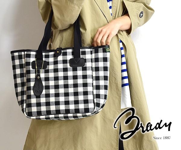 "【20SS】Brady ブレディ ギンガムチェック トートバッグ ""EXTRA SMALL CARRYALL"" 【送料無料】"