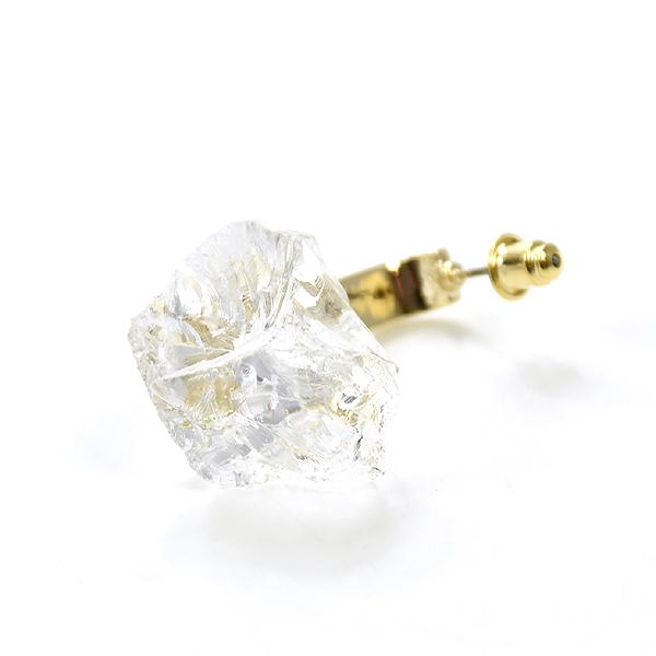 【40%OFF】【セール】Soierie ソワリー Crystal bar pierce クリスタルバーピアス 415-070 レディース 【返品・交換不可】