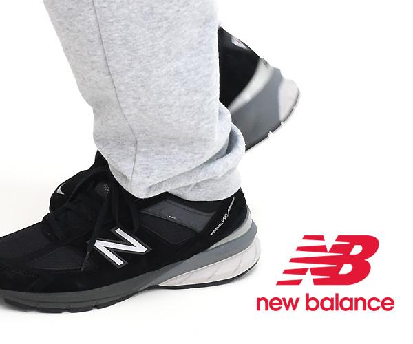 "New Balance ニューバランス ""M990 V5 BK5"" スニーカー MADE IN USA 限定【送料無料】"