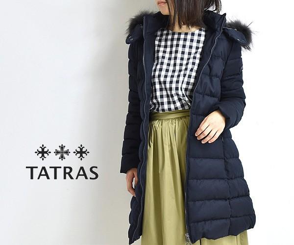 """【20AW】TATRAS タトラス """"LAVIANA/ラビアナ"""" ファー付きウールロングダウンコート LTAT20A4571 レディース"""
