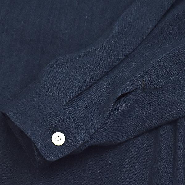 natalia ナターリア ビスコースリネン ドレスシャツ ワンピース N3703 レディース