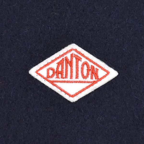 DANTON ダントン ウールモッサ Vネックノーカラージャケット JD-8067WOM レディース【送料無料】