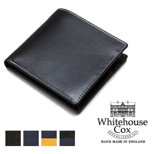 Whitehouse Cox ホワイトハウスコックス 2つ折り財布 リージェント・ブライドルレザー S7532 【送料無料】