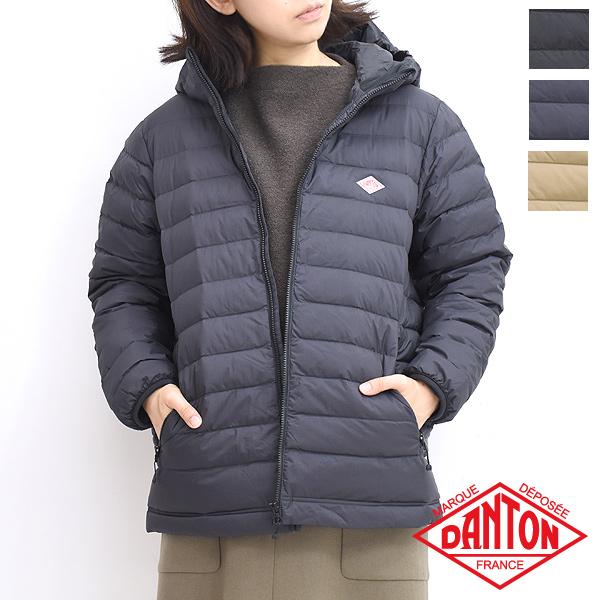 【限定商品】DANTON ダントン フーデッドミドルダウンジャケット JD-8031 レディース【送料無料】