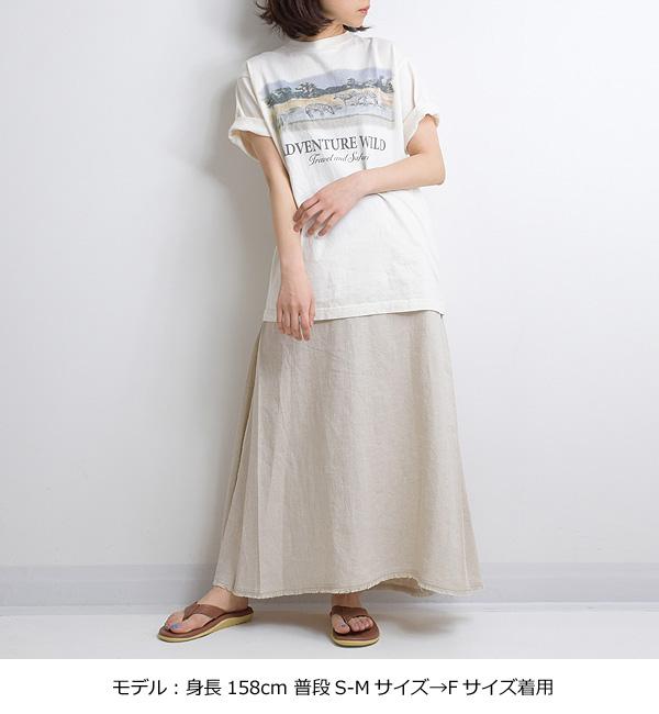 """【21SS】THE SHINZONE シンゾーン """"ADVENTURE WILD TEE"""" アドベンチャーワイルドTシャツ 21MMSCU16【クリックポスト可】【会員登録で送料無料】"""