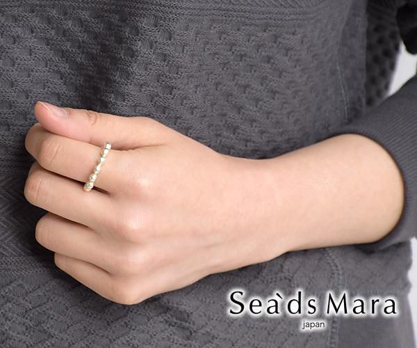 Sea'ds mara シーズマーラ Frill Ring フリルリング 17AE3-50 レディース【会員登録で送料無料】