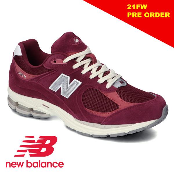 """【21FW】New Balance ニューバランス """"M2002R"""" M2002RHA WINE RED ワインレッド メンズ 限定モデル【予約】"""