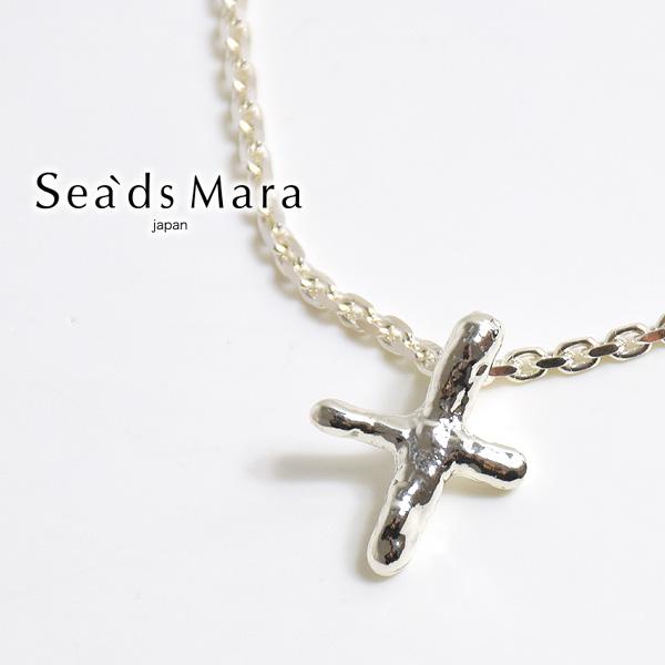 Sea'ds mara シーズマーラ Petit Cross Necklace クロスモチーフネックレス 21A1-13 レディース【会員登録で送料無料】