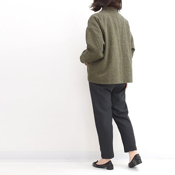 Sarah Wear サラウェア チェックツイードジャケット C52666 レディース【送料無料】
