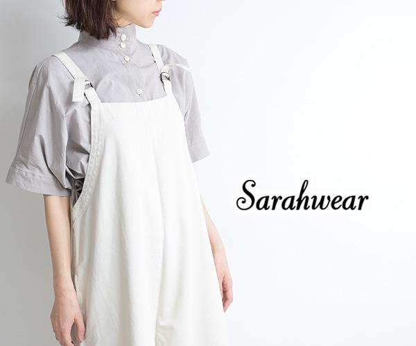 Sarah Wear サラウェア コットンツイルサロペットパンツ C16036 レディース【送料無料】