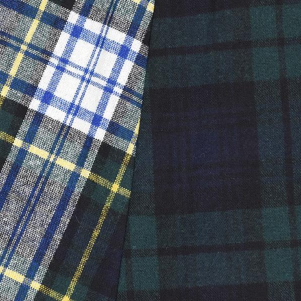 O'NEIL OF DUBLIN × Harriss オニールオブダブリン×ハリス COMBINATION SWING SKIRT コンビネーション スウィング スカート C18985M-202 レディース【送料無料】