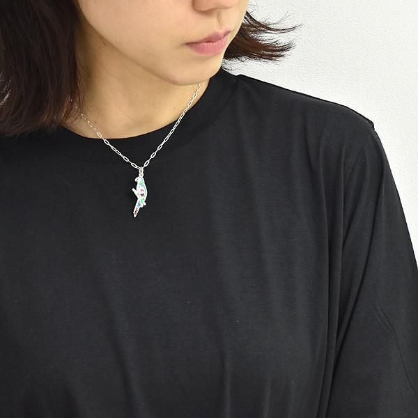 petite robe noire プティローブロアー パロットモチーフシルバーネックレス PRN201112 レディース【送料無料】