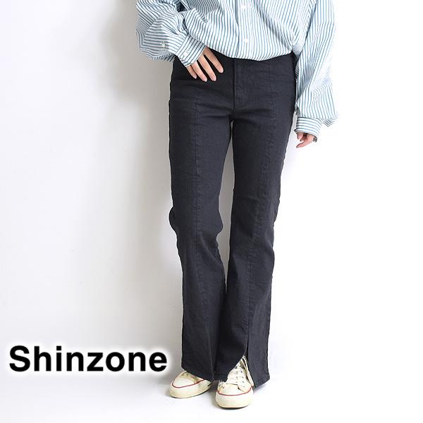 THE SHINZONE シンゾーン SLIT JEANS スリットジーンズ デニム 20AMSPA66 レディース【送料無料】