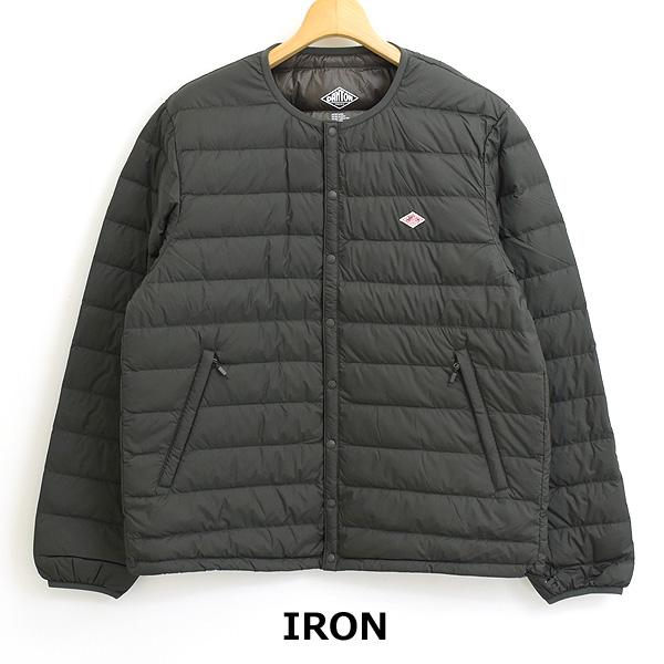 【21AW】DANTON ダントン クルーネックインナーダウンジャケット メンズ DT-A0025 【送料無料】