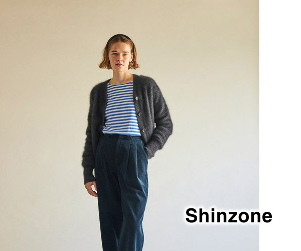 THE SHINZONE シンゾーン RACOON CARDIGAN ラクーンカーディガン 21AMSNI01 レディース【送料無料】