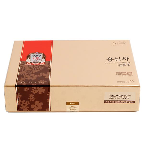 【高麗人参】正官庄 紅参茶(紙箱)100包
