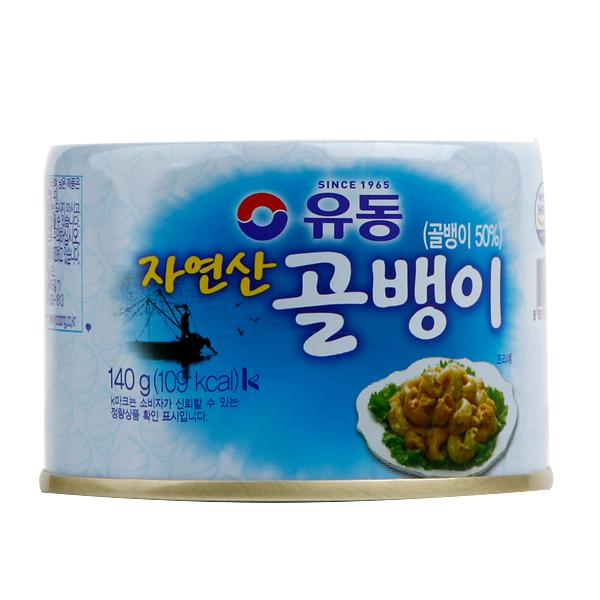つぶ貝缶詰(自然産)140g