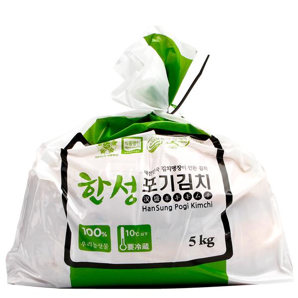 [冷]【熟成】ハンソン白菜キムチ5kg(韓国産):鍋・炒め用
