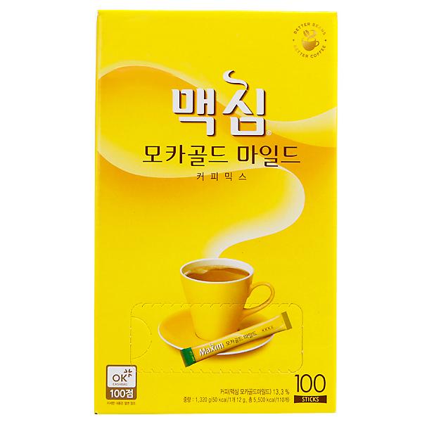 Maximモカゴールドコーヒーミックス100本(黄)