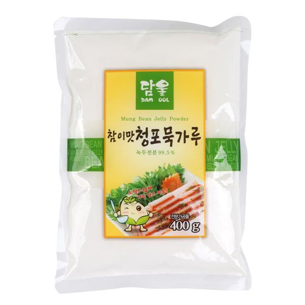 [草野] チョンポ(緑豆)ムックの粉 豆こんにゃくの粉(400g)
