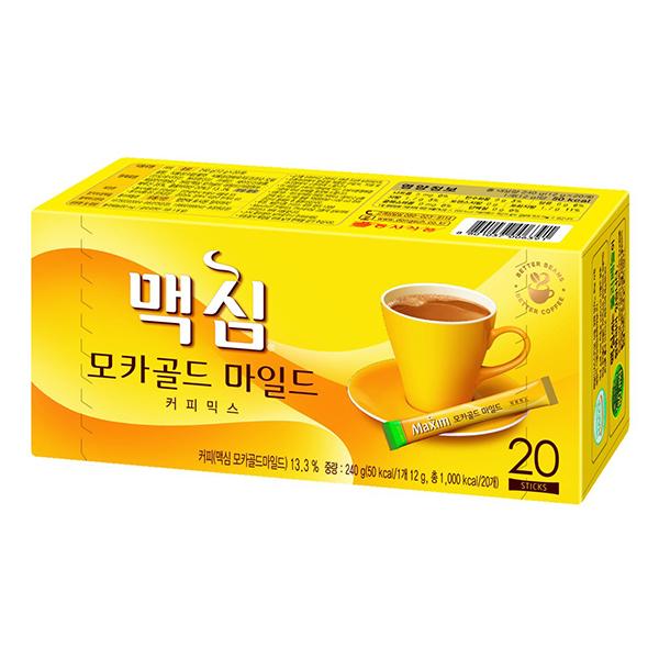 Maximモカゴールドコーヒーミックス 20本(黄)