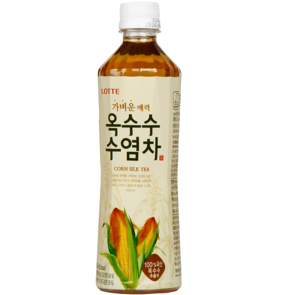 [値上げ]ロッテトウモロコシひげ茶500ml
