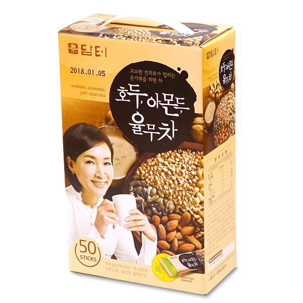 【紙箱に変更】クルミ・アーモンド・ハトムギ茶(50包)