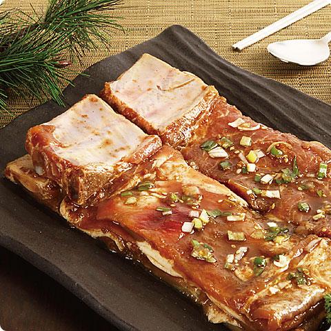 [凍]ピョルチンヤンニョム(味付け)豚カルビ1kg