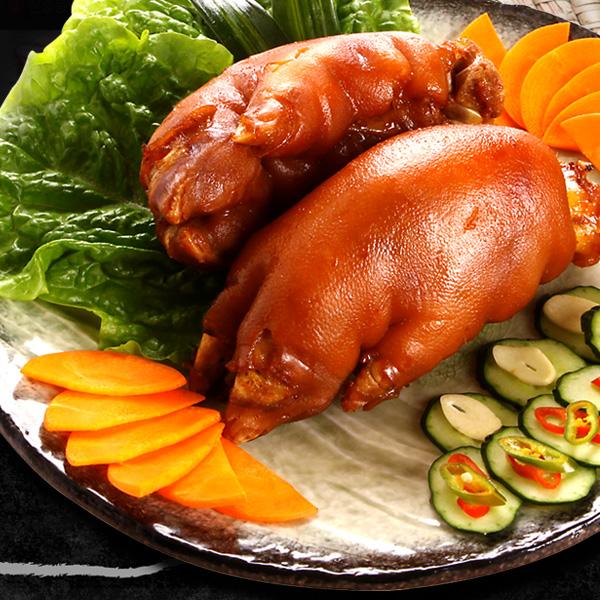 [冷]東大門豚足固まり(600g・2個入)(味付)