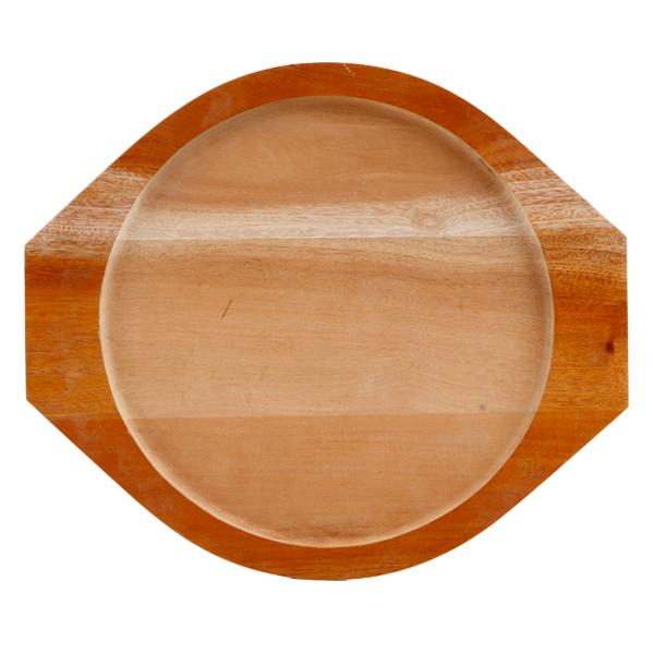 チヂミ用石板下敷き(外径30×取っ手部分35cm×1.9cm、内径26cm)