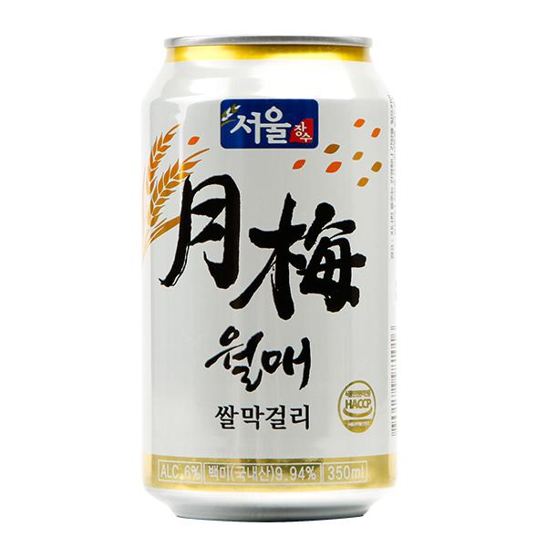 ソウル米マッコリ(缶)350ml