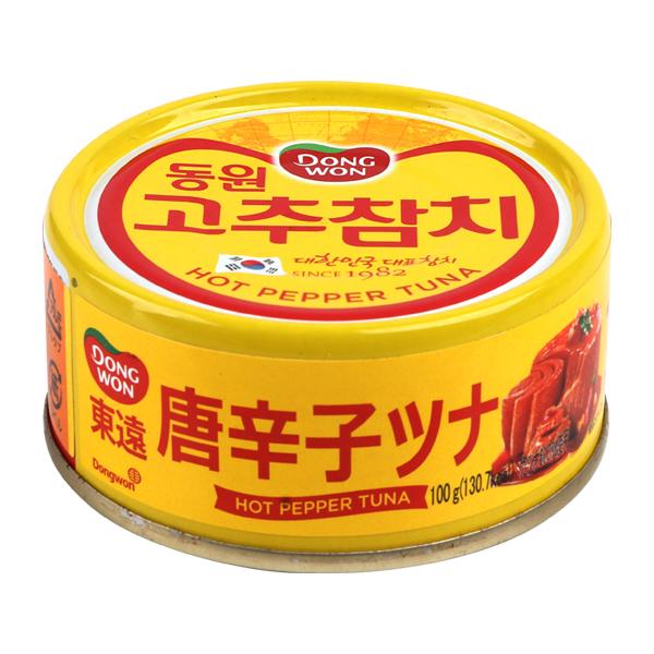 [東遠] 唐辛子ツナ缶詰100g