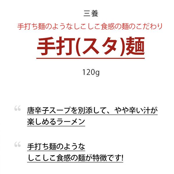 [三養] 手打麺 スタ麺 / 120g