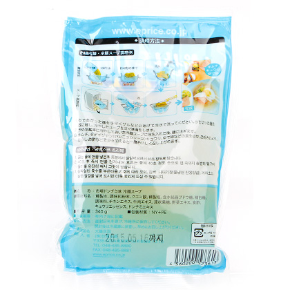 市場冷麺スープ(ドンチミ味)340g